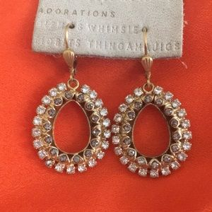 Anthropologie earrings - new